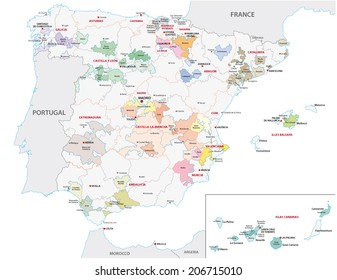 Map Of Spain Vineyards.Rioja Vineyards Stock Illustrations Images Vectors Shutterstock