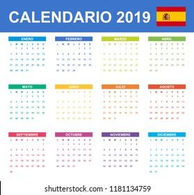 Calendario 2019 Con Numero Week.Imagenes Fotos De Stock Y Vectores Sobre Numeros Calendario