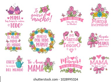 Spanish mother day greeting