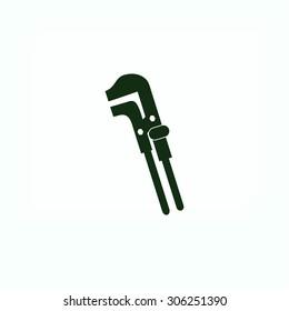 Spanner monochrome icon