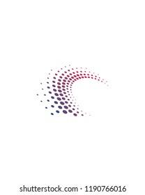 Spark Dot Abstract Logo Template