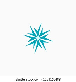 Spark Logo Icon Abstract Design Template - Vector