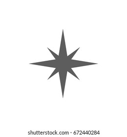 Sparking icon in trendy flat style isolated on white background. Symbol for your web site design, logo, app, UI. Vector illustration, EPS