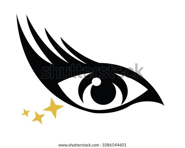 Sparkle Long Eyelashes
