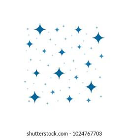 Sparkling stars placer