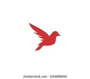 Sparrow bird logo