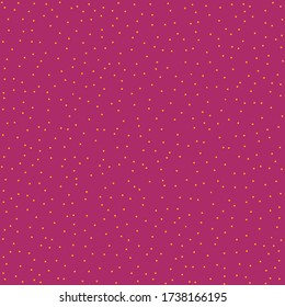 Sparse pink confetti dotty paper texture seamless background. Tiny colored flecked polka dot sprinkles isolated. Modern cute falling speckle pattern. Japanese minimal summer party scrapbook paper