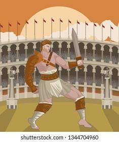 spartacus gladiator slave warrior
