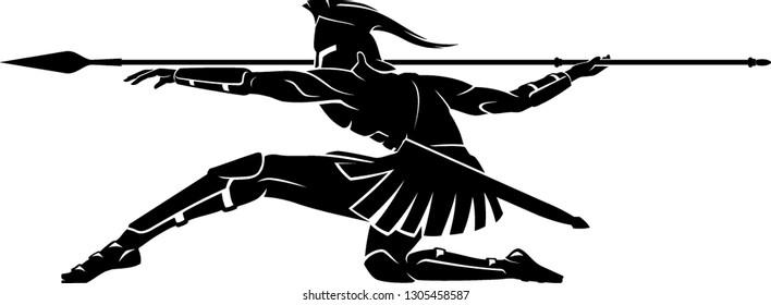 Spartan Crouching Attack