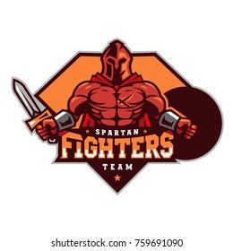 Spartan Fighters Team Logo