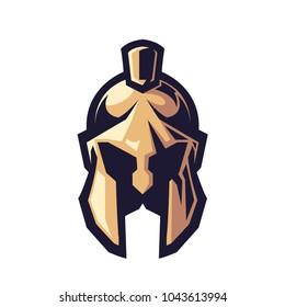 Spartan Helm E Sport Logo