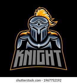 spartan knight esport logo. warrior esport logo.