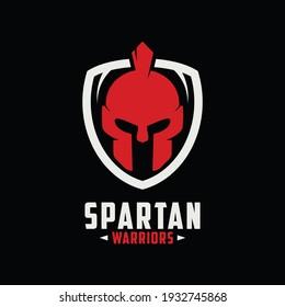 spartan logo icon vector isolated