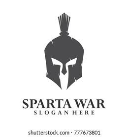 Spartan Logo Vector, Sparta Logo Vector, Spartan Helmet Logo