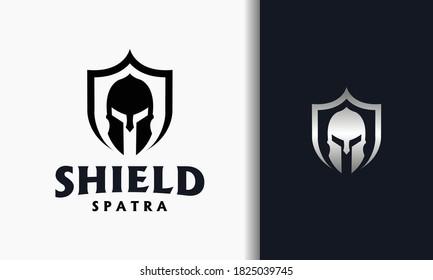 the spartan shield strong logo