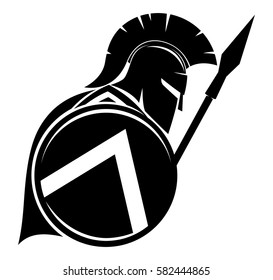 spartan images stock photos vectors shutterstock rh shutterstock com clipart spartan helmet spartan clipart gallery