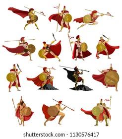 spartan soldier warriors
