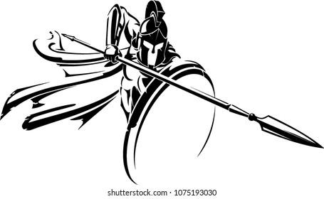 Spartan Spear Defensive Attack