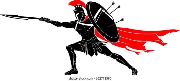 Spartan Warrior Thrust Sword
