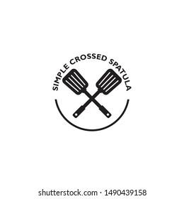 Spatula logo design vector template