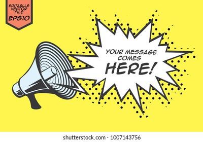 speaker horn vector file