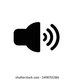 Speaker icon,vector illustration. Flat design style. vector speaker icon illustration isolated on White background, speaker icon Eps10. speaker icons graphic design vector symbols.