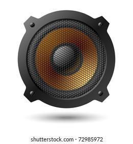 Speaker. Vector.