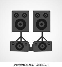 Speaker Vector Template Design