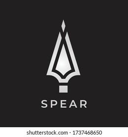 spear logo , spear icon design vector     for multiple use