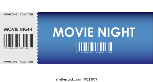 special blue movie ticket