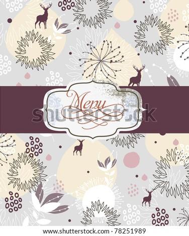 Special Card Design Menu Wedding Card Stock Vector Royalty Free