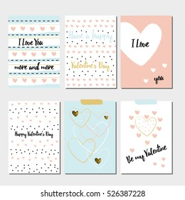 Special cards for a happy Valentine's Day