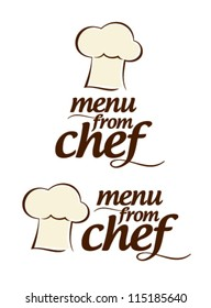 Special menu from Chef icons set.