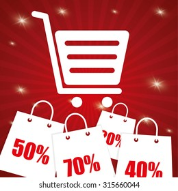 Special offer concept label with sale icons, vector illustration 10 eps graphic.