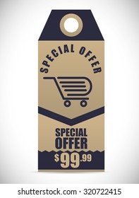 Special Offer concept and sale icons design, vector illustration 10 eps graphic.