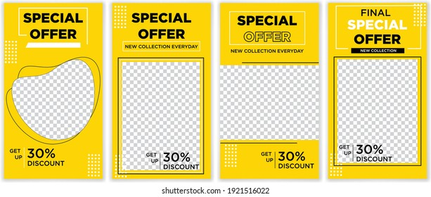 Special Offer Instagram Story Template