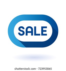 Special offer sale tag discount symbol. Isolated modern graphic style vector illustration.