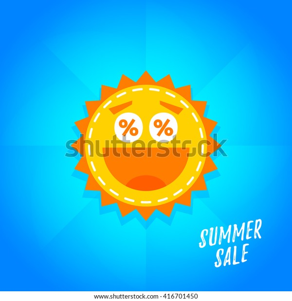 Special offer summer sticker. Promotion tag. Sale Banner, Poster, Flyer illustration