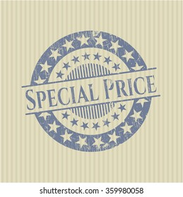 Special Price grunge seal
