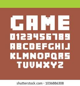 special strange fonts in vector