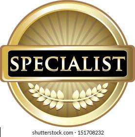 Specialist Gold Award