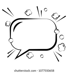 speck bubble empty clouds comic chat image