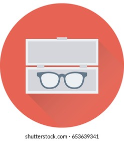 Spectacles Box Vector Icon