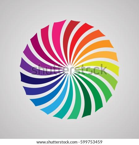 Spectral Diafragma Stock Vector Royalty Free 599753459 Shutterstock