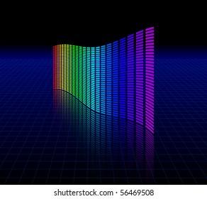 Spectrum graphic equalizer