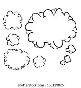 Speech bobble doodle