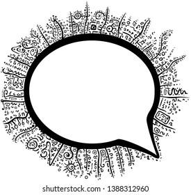 Vectores, imágenes y arte vectorial de stock sobre Speech Codes