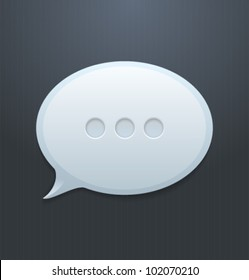 speech bubble html5