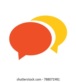 speech bubble icon - communication symbol