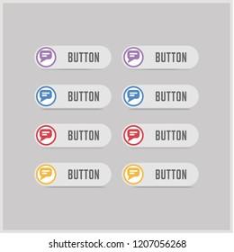 Speech bubble icon - Free vector icon